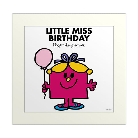 An image Of Little Miss Birthday