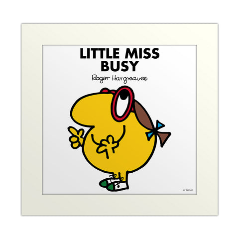 An image Of Little Miss Busy