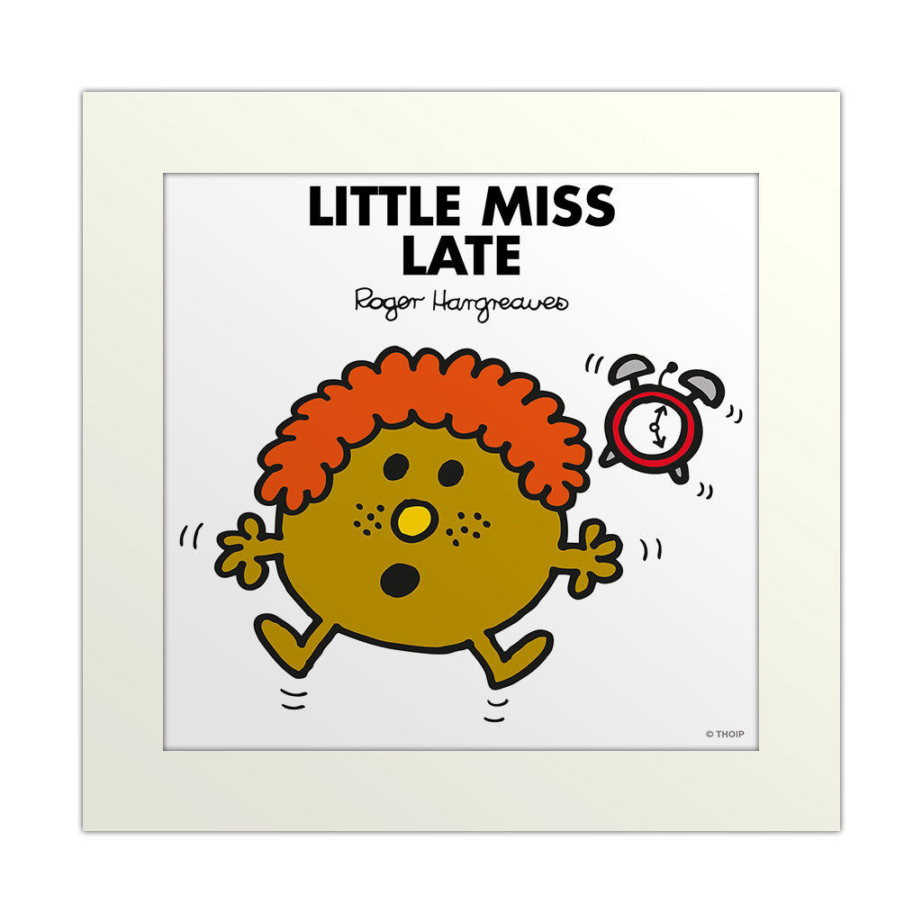 An image Of Little Miss Late