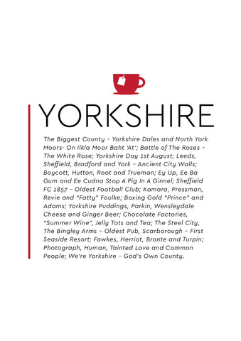 POPYKS002 - Yorkshire Tea