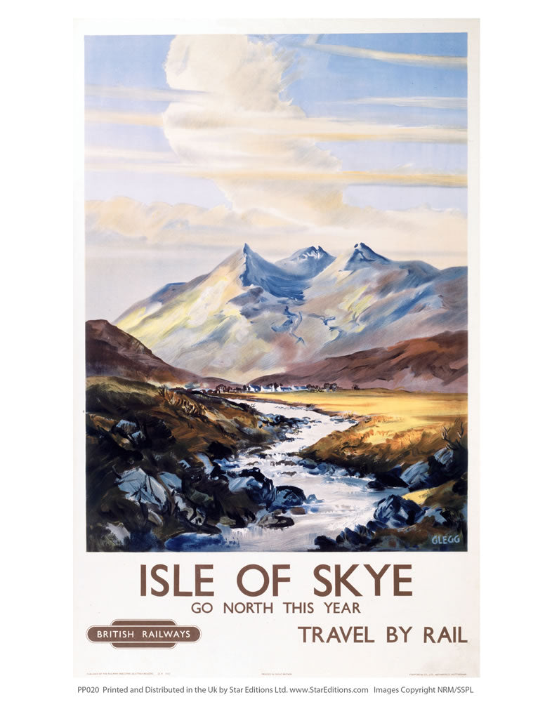 "PP020 isle of Skye 24"" x 32"" Matte Mounted Print"