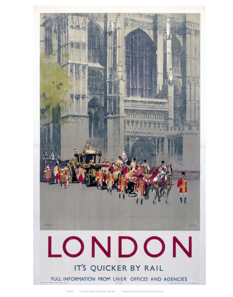 "London Parade St Paul's 24"" x 32"" Matte Mounted Print"