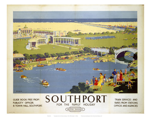 "Southport 24"" x 32"" Matte Mounted Print"