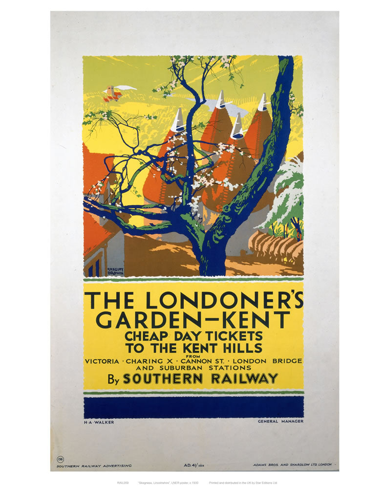 "The Londoner's Garden 24"" x 32"" Matte Mounted Print"
