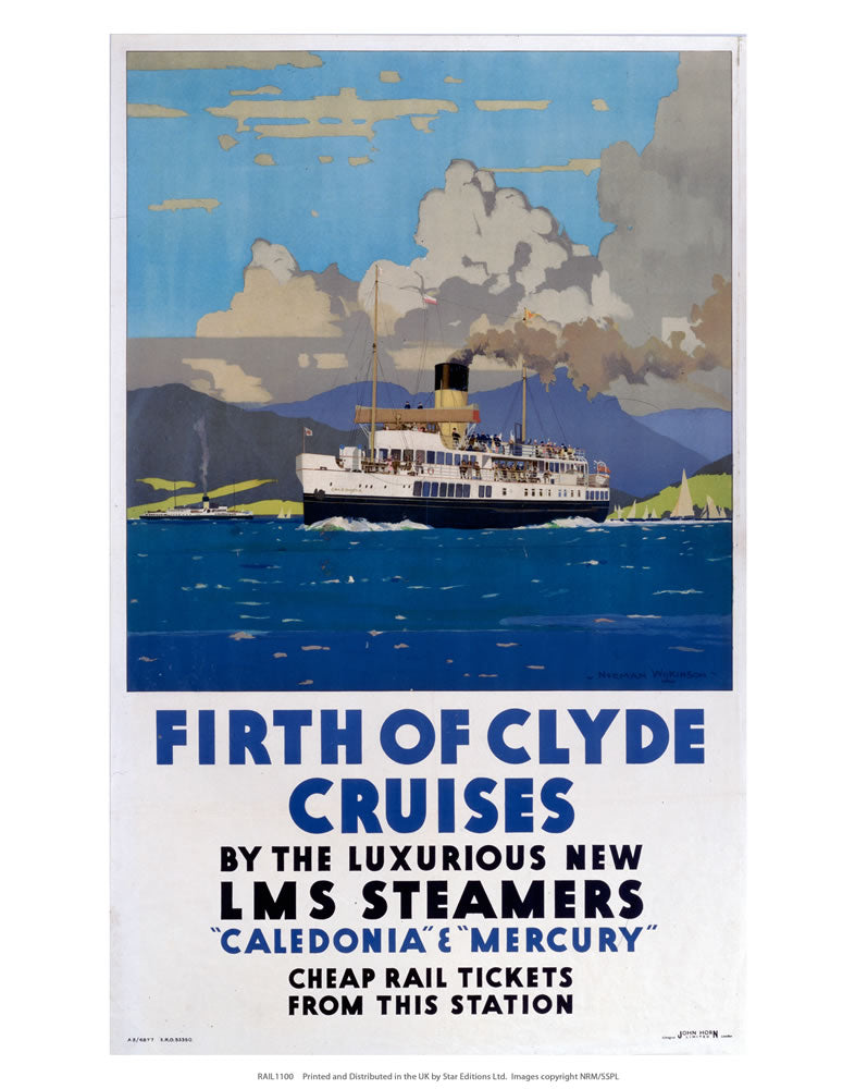 "Firth of Clyde cruise's 24"" x 32"" Matte Mounted Print"
