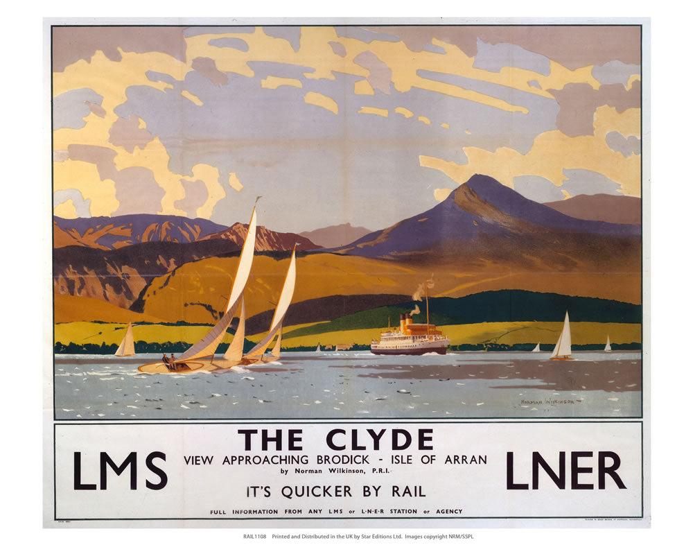 "The Clyde 24"" x 32"" Matte Mounted Print"