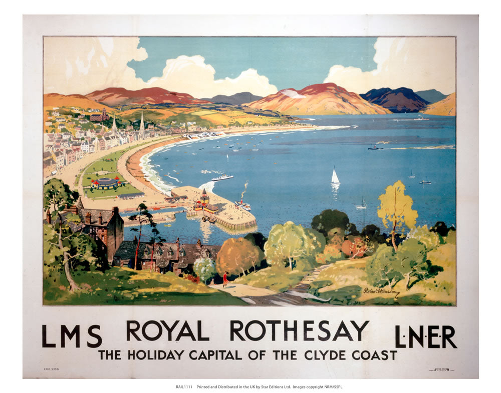 "Royal Rothesay 2 24"" x 32"" Matte Mounted Print"