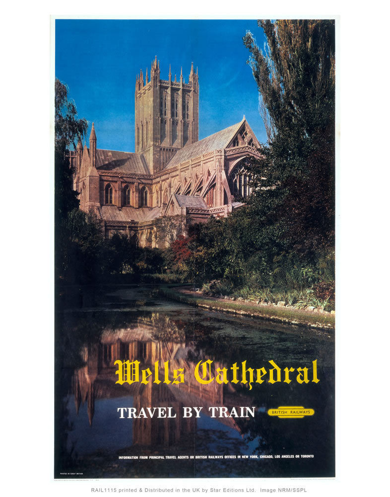 "Wells Cathedral 24"" x 32"" Matte Mounted Print"