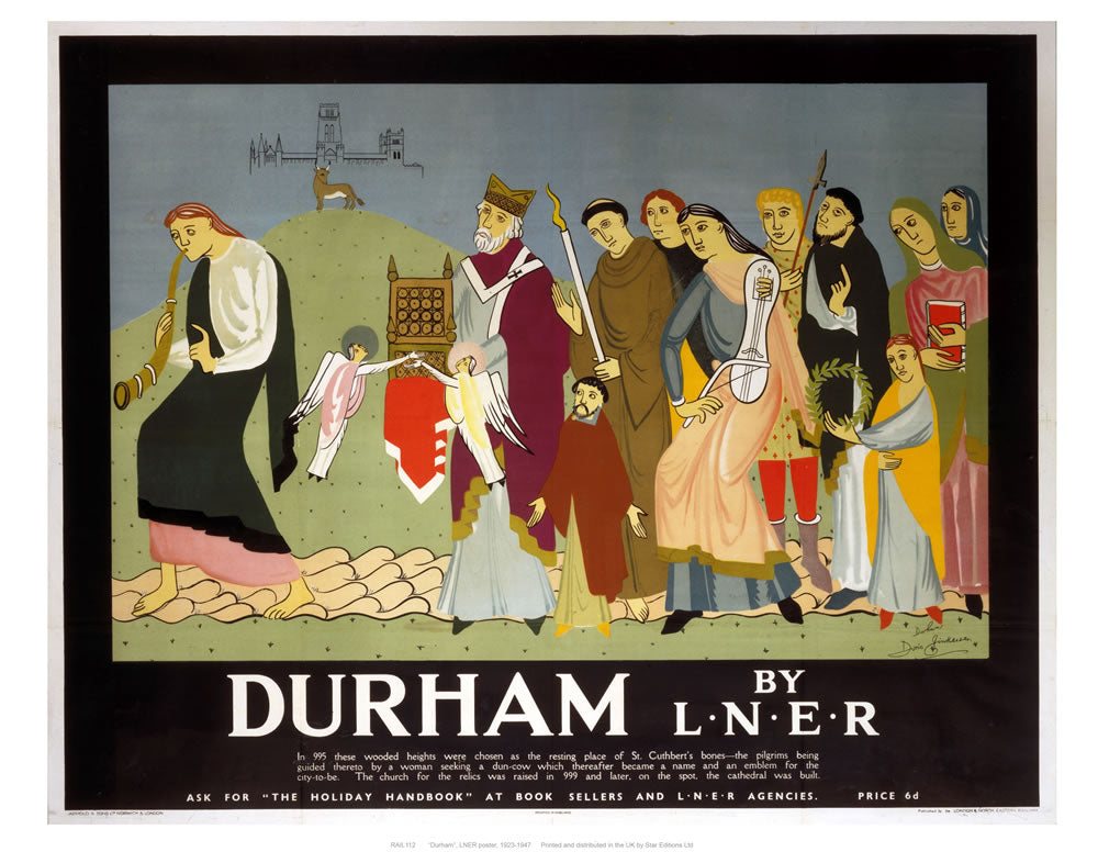 "Durham by liner 24"" x 32"" Matte Mounted Print"