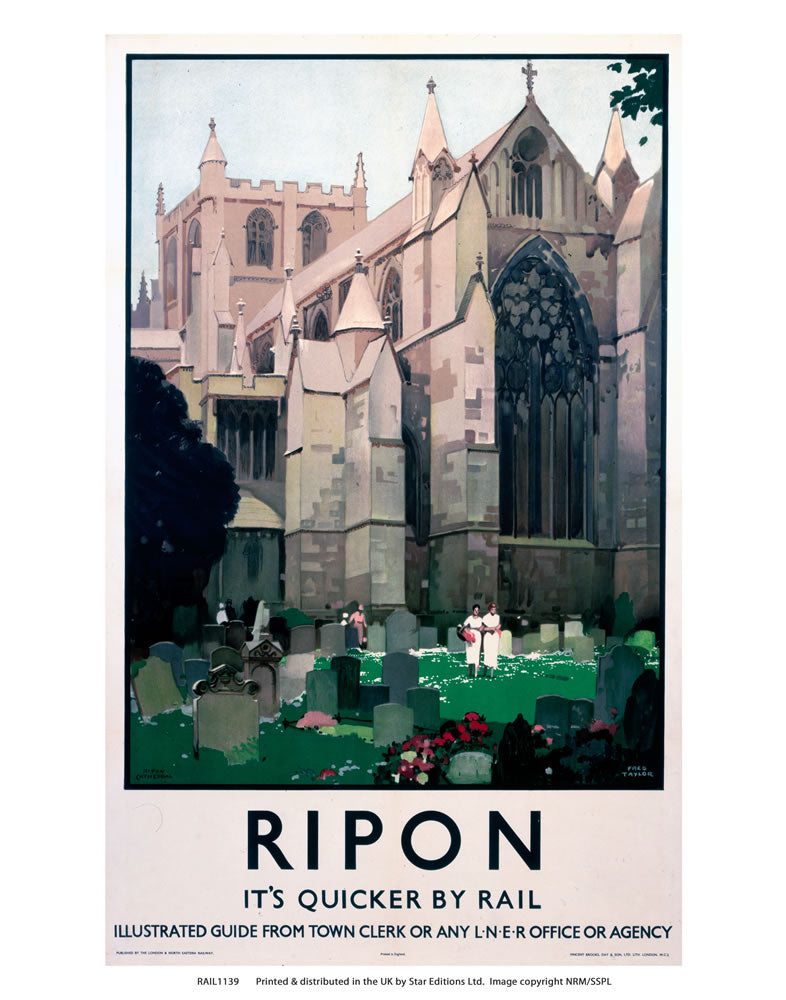 "Ripon 24"" x 32"" Matte Mounted Print"