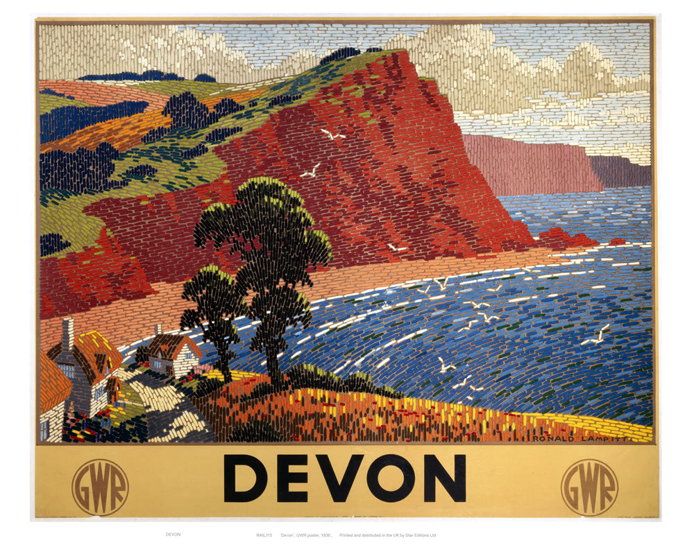 "Devon 24"" x 32"" Matte Mounted Print"