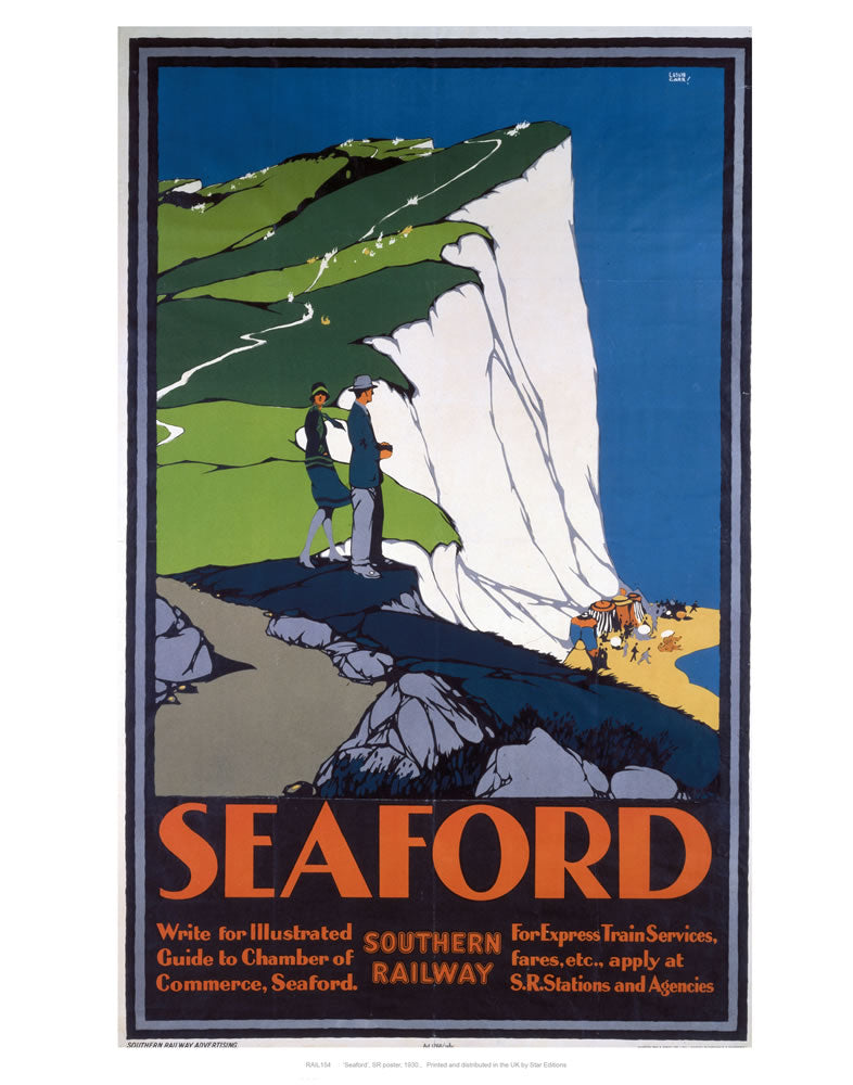 "Seaford 24"" x 32"" Matte Mounted Print"