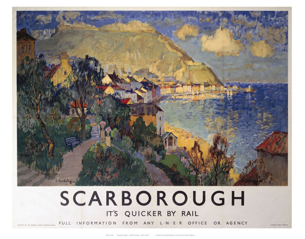 "Scarborough 24"" x 32"" Matte Mounted Print"