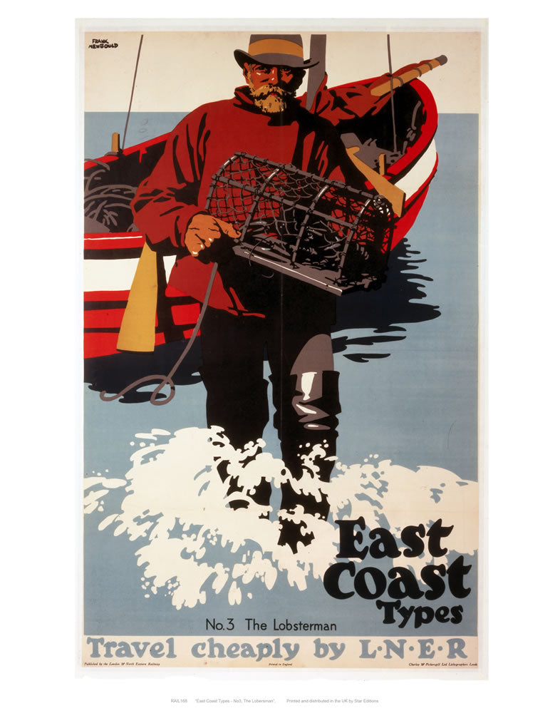 "East coast types 24"" x 32"" Matte Mounted Print"