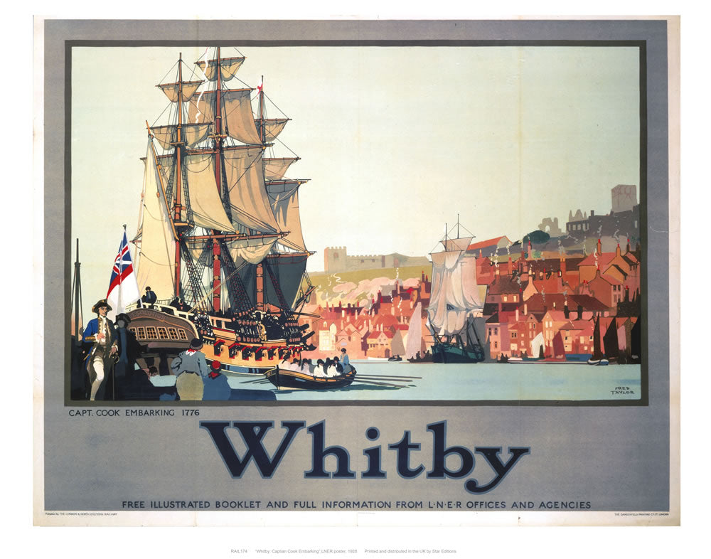 "Whitby 2 24"" x 32"" Matte Mounted Print"