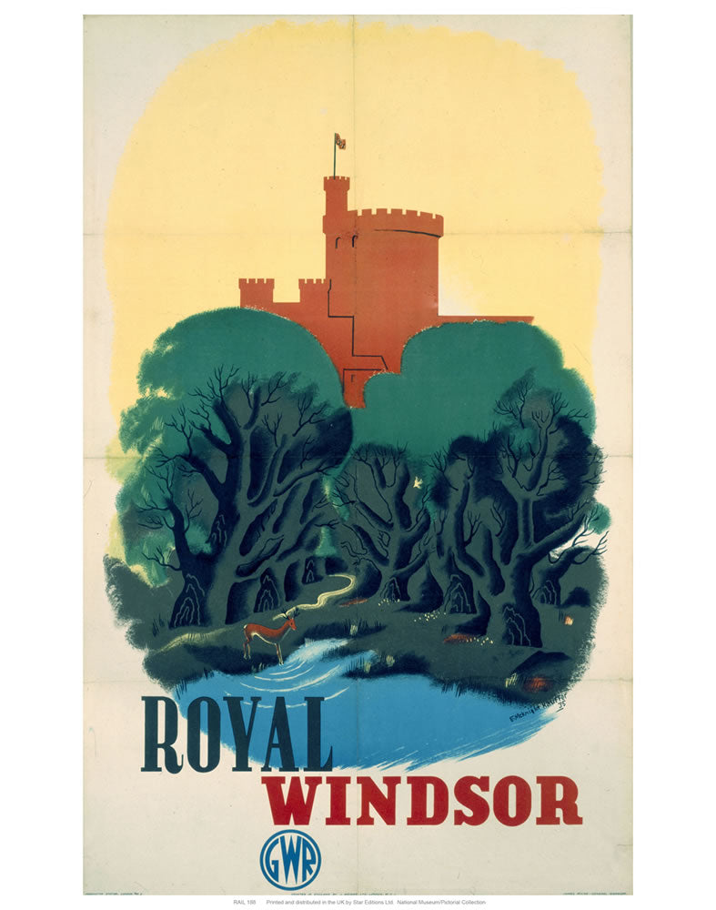 "Royal Winsor 24"" x 32"" Matte Mounted Print"