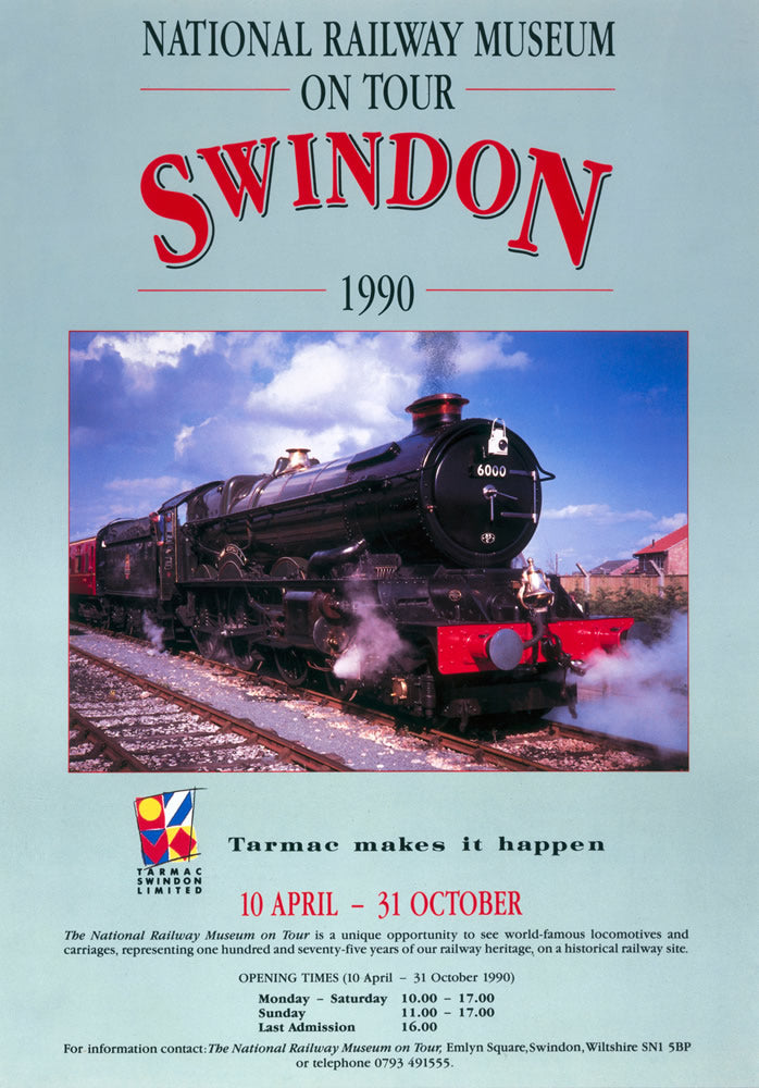 "Swindon NRM 24"" x 32"" Matte Mounted Print"