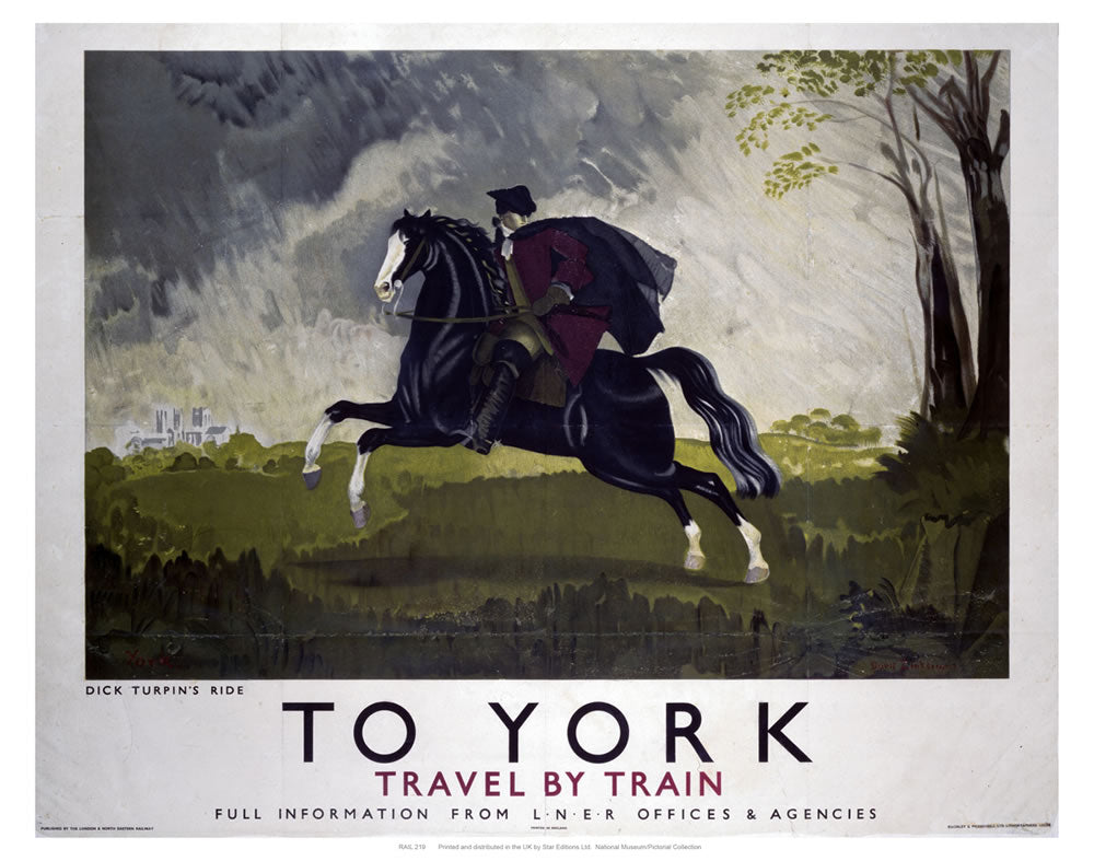 "To York 24"" x 32"" Matte Mounted Print"