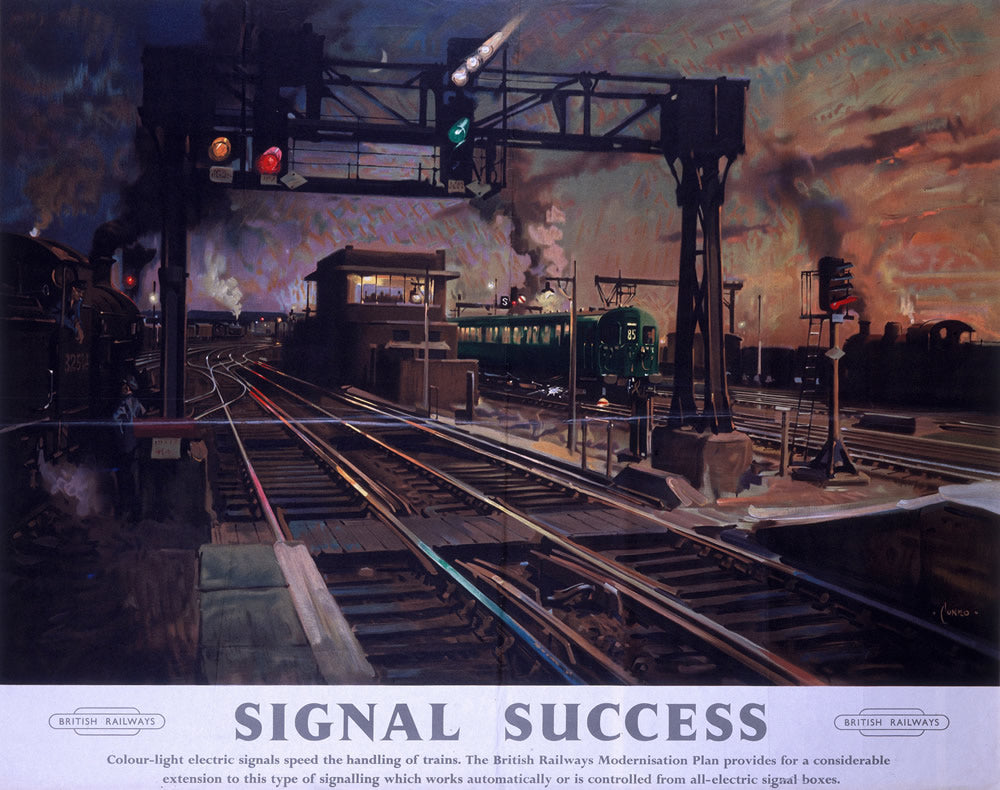 "Signal Success 24"" x 32"" Matte Mounted Print"