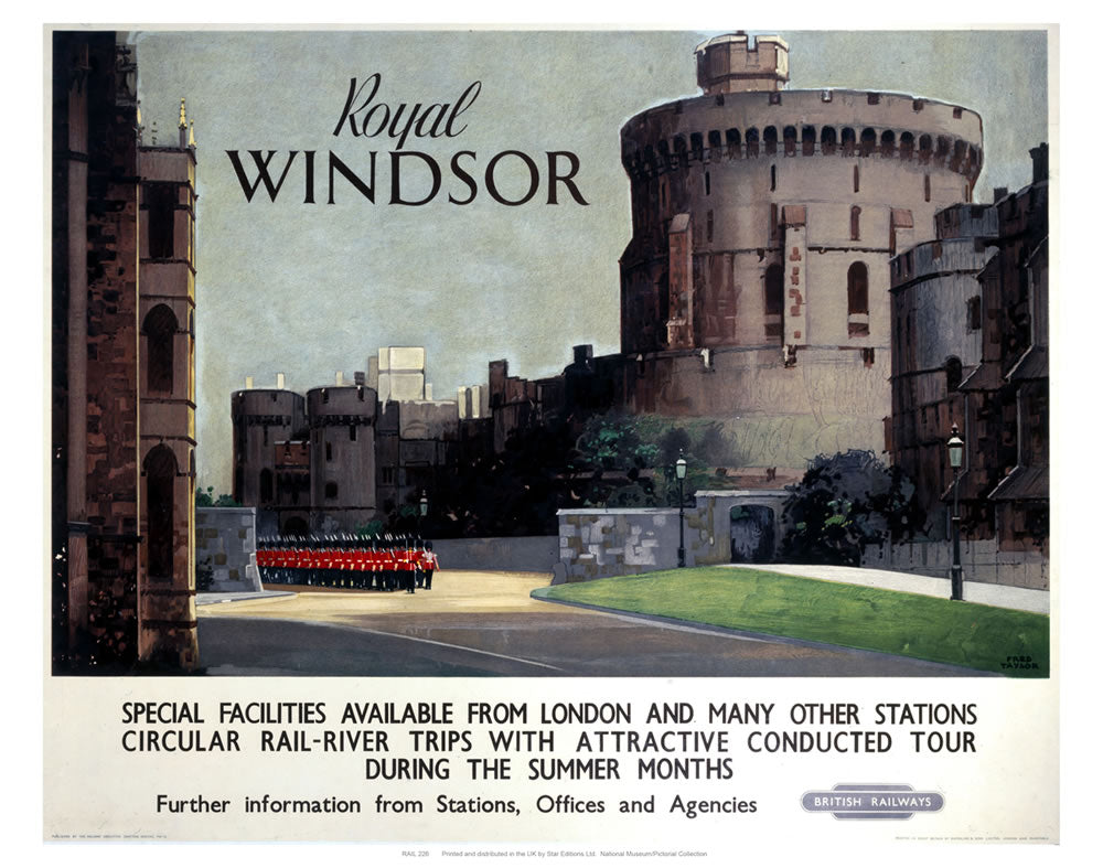 "Royal Windsor 24"" x 32"" Matte Mounted Print"