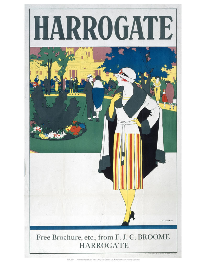 "Harrogate Lady 24"" x 32"" Matte Mounted Print"