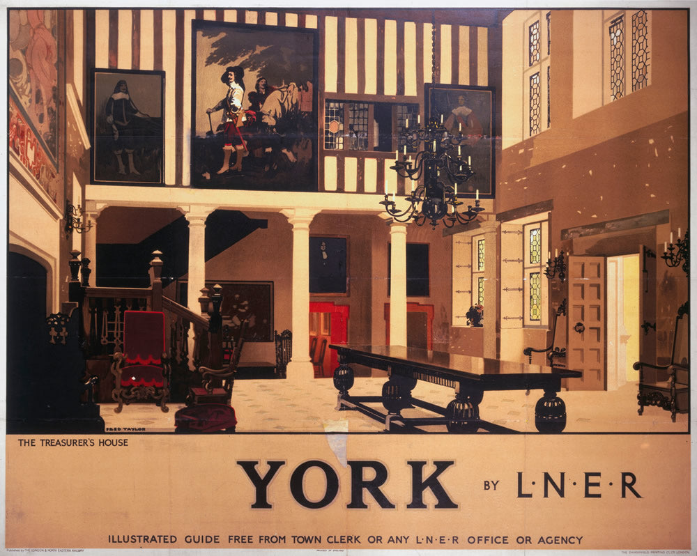 "York The Treasurers House 24"" x 32"" Matte Mounted Print"