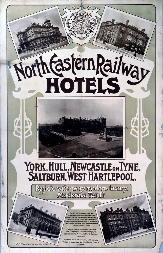 North Eastern Railway Hotels York