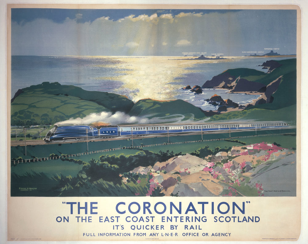 "The Coronation East Coast 24"" x 32"" Matte Mounted Print"