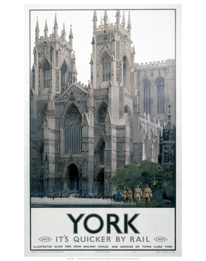 "York 24"" x 32"" Matte Mounted Print"