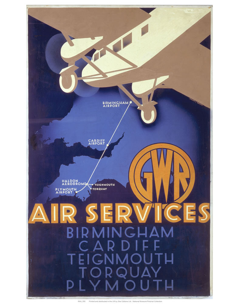 "Air services 24"" x 32"" Matte Mounted Print"