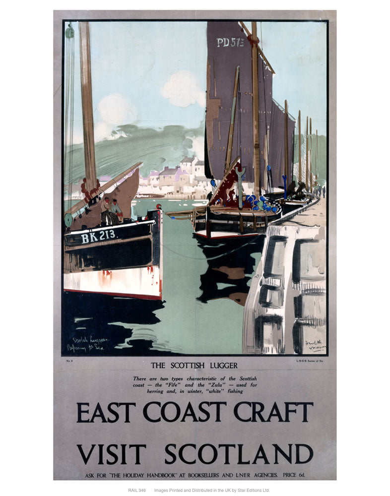 "East coast craft 24"" x 32"" Matte Mounted Print"