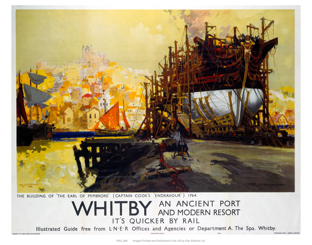 "Whitby 24"" x 32"" Matte Mounted Print"