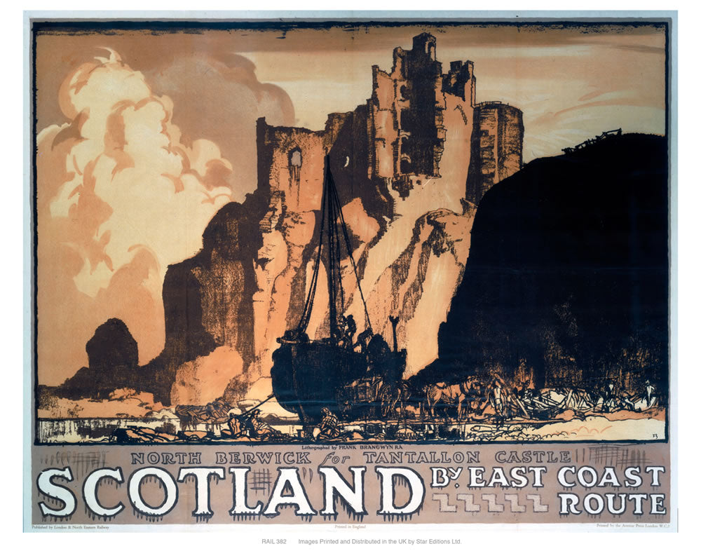 "Scotland 24"" x 32"" Matte Mounted Print"