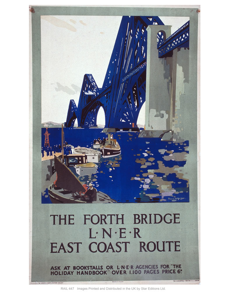 "The forth bridge 24"" x 32"" Matte Mounted Print"