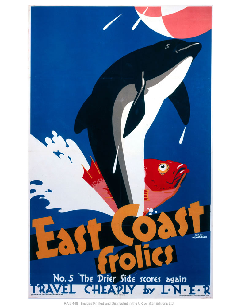 "East coast frolics 24"" x 32"" Matte Mounted Print"