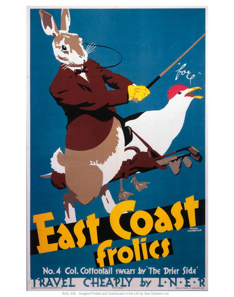 "East coast frolics 3 24"" x 32"" Matte Mounted Print"