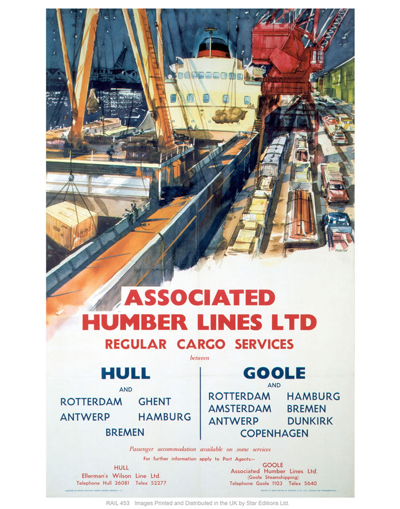 "Associated Humber lines LTD 24"" x 32"" Matte Mounted Print"