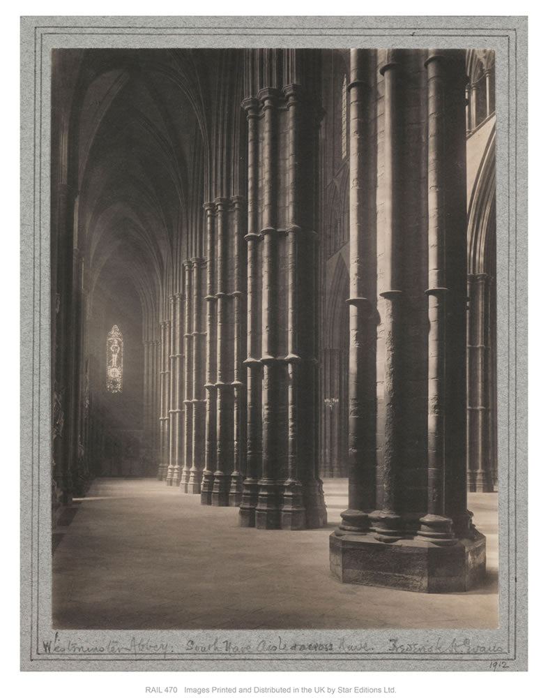 "West minster Abbey 24"" x 32"" Matte Mounted Print"