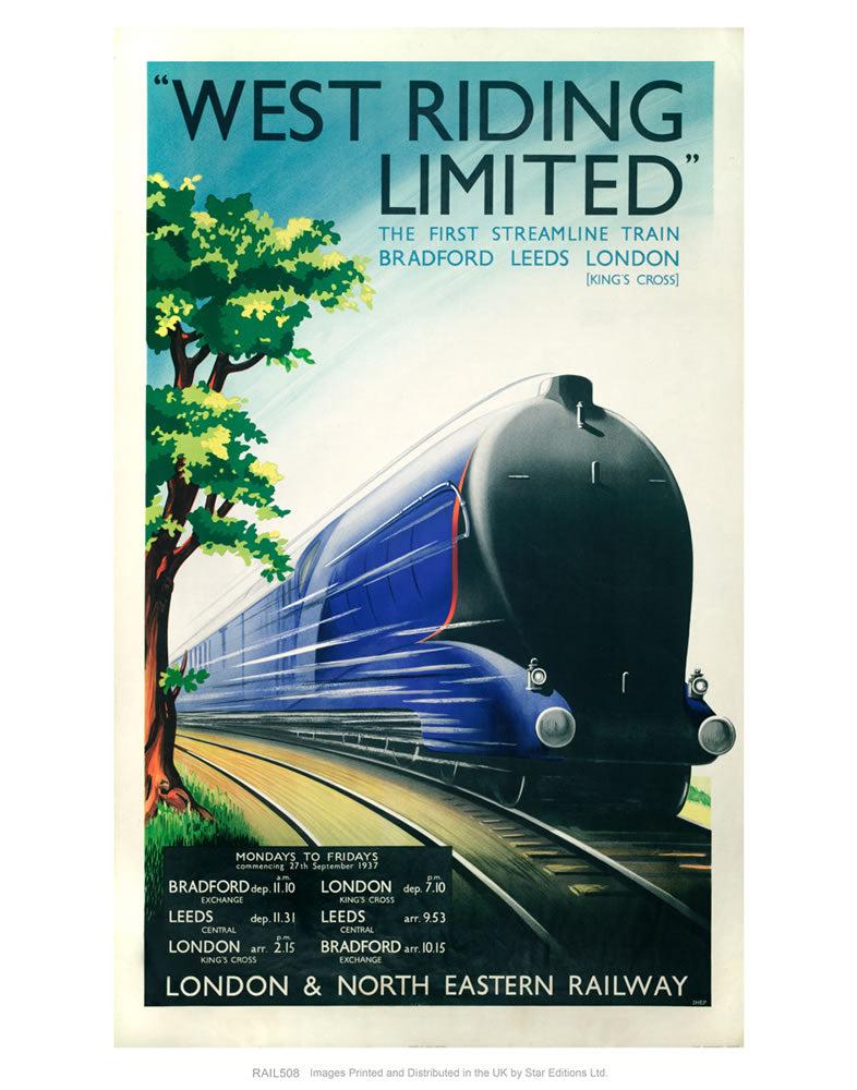West Riding Limited - Steamline Train - Bradford