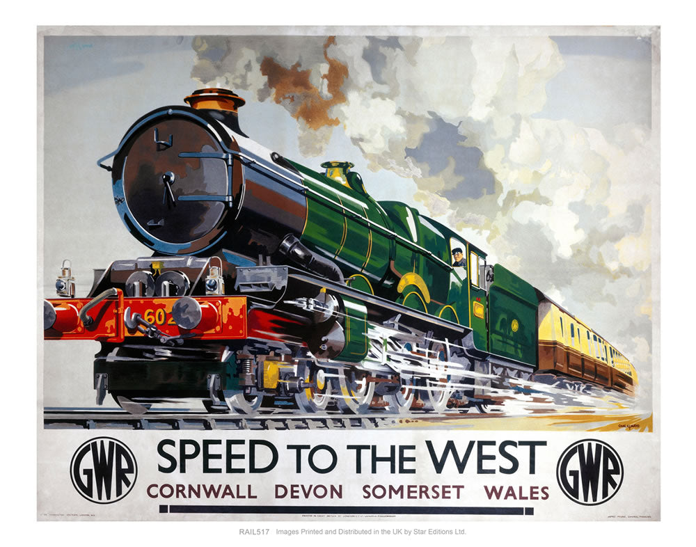 Speed to the West - Cornwall