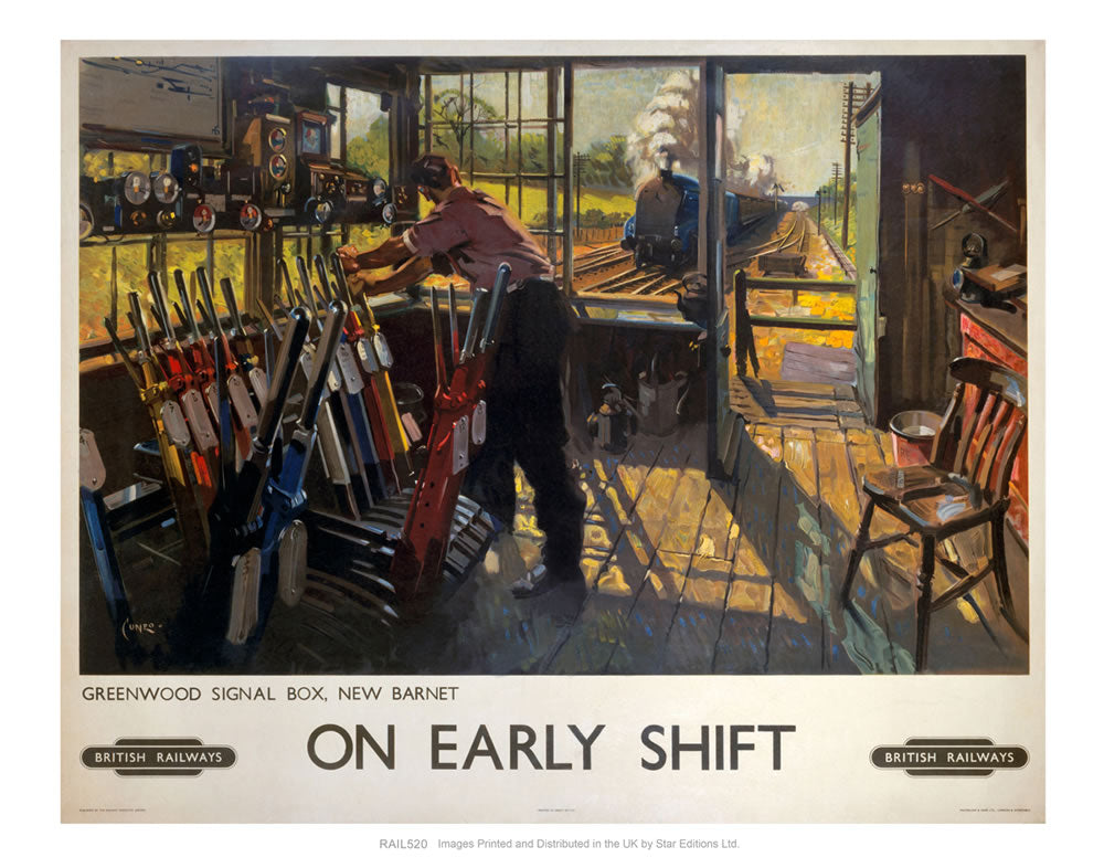 On Early Shift - Greenwood Signal Box