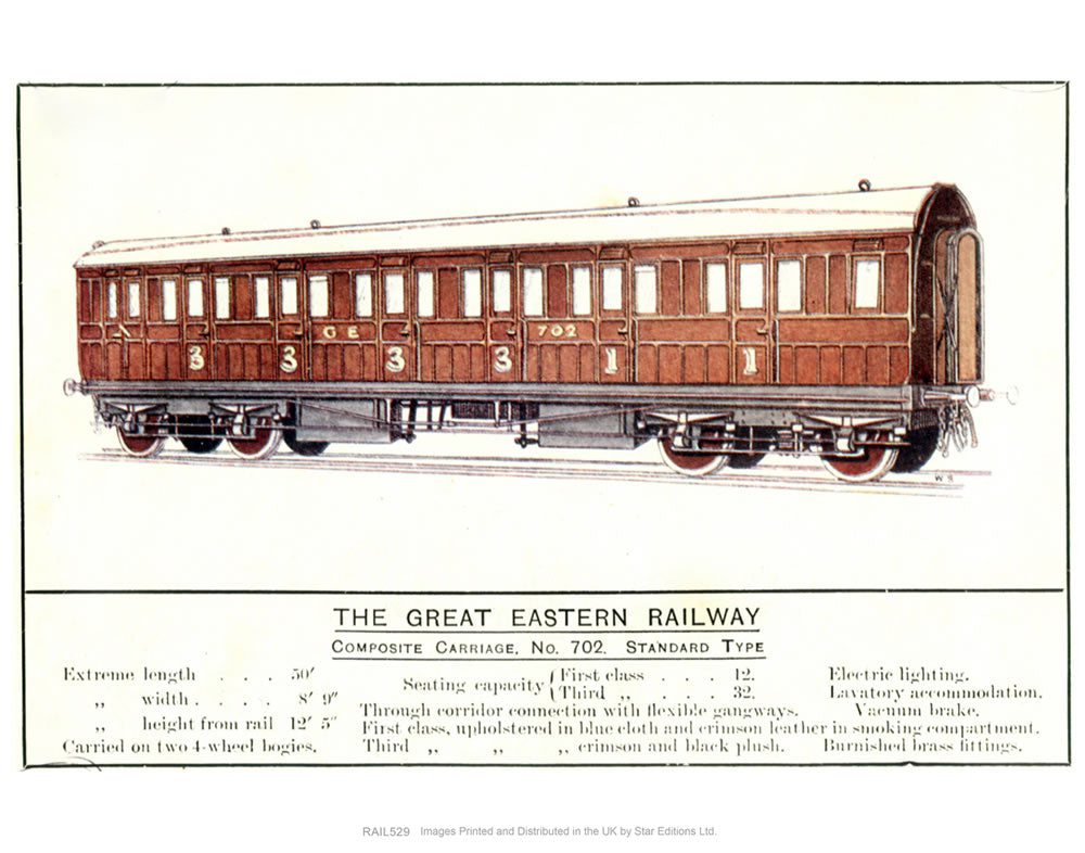 Composite Carriage No. 702 Standard Type