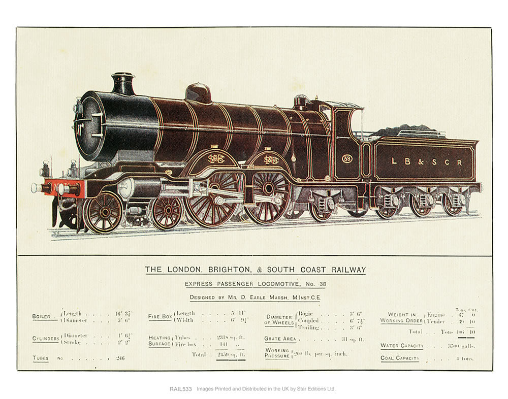 Express Passenger Locomotive