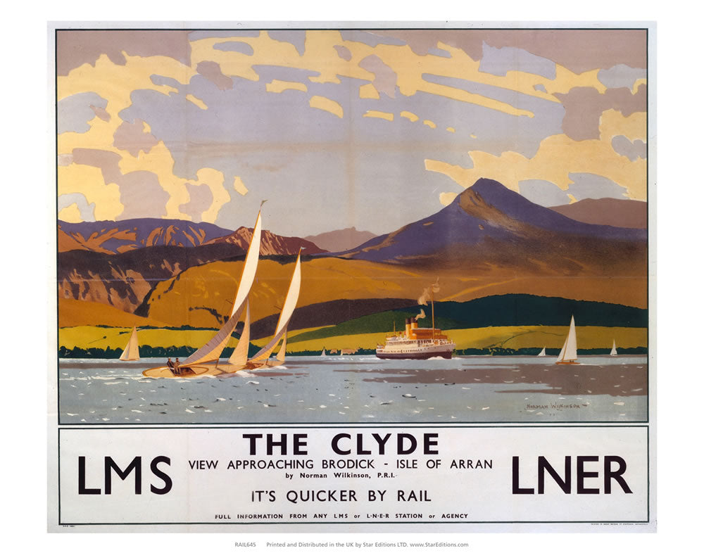 View approaching brodick - The Clyde