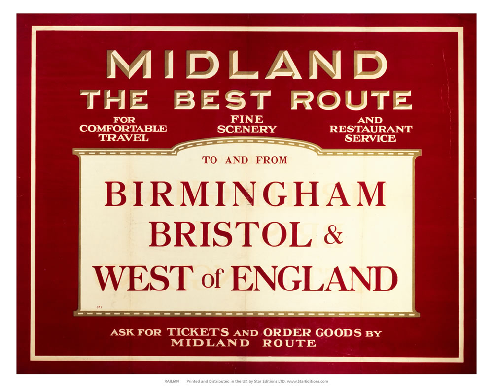 Midland the best route - Birmingham