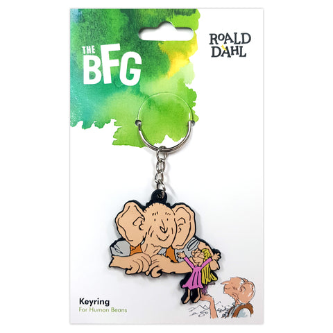 RDBFGRUBBERKEYRING: Roald Dahl Big Friendly Giant Rubber Keyring