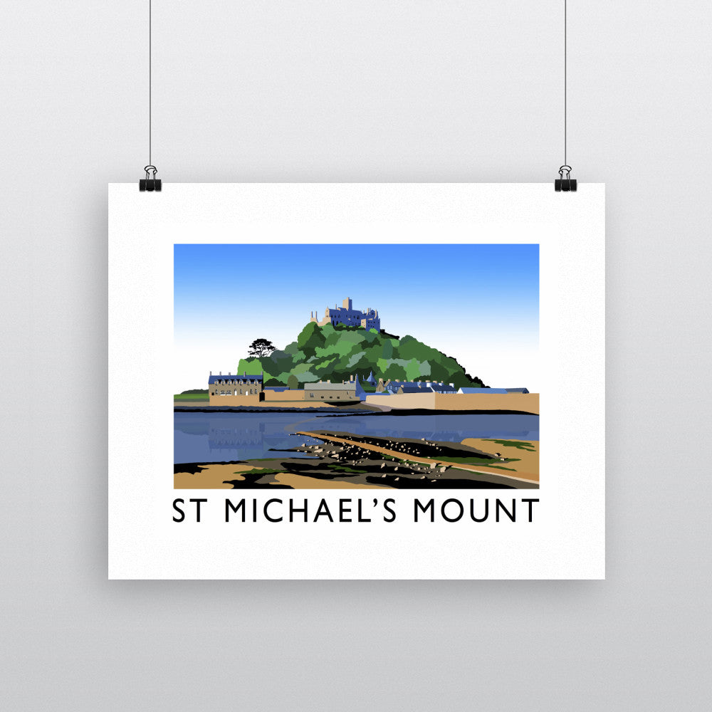 St. Michaels Mount, Cornwall 11x14 Print