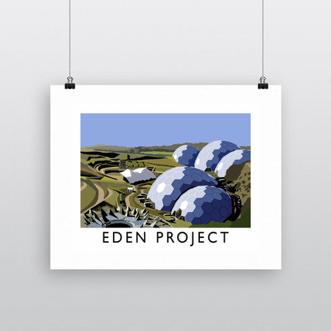 Eden Project, Cornwall 11x14 Print