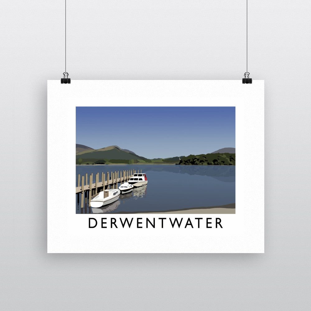 Derwentwater, Lake District 11x14 Print