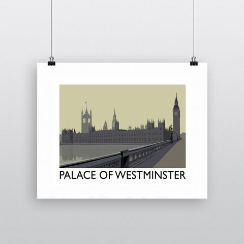 The Palace of Westminster, London 11x14 Print